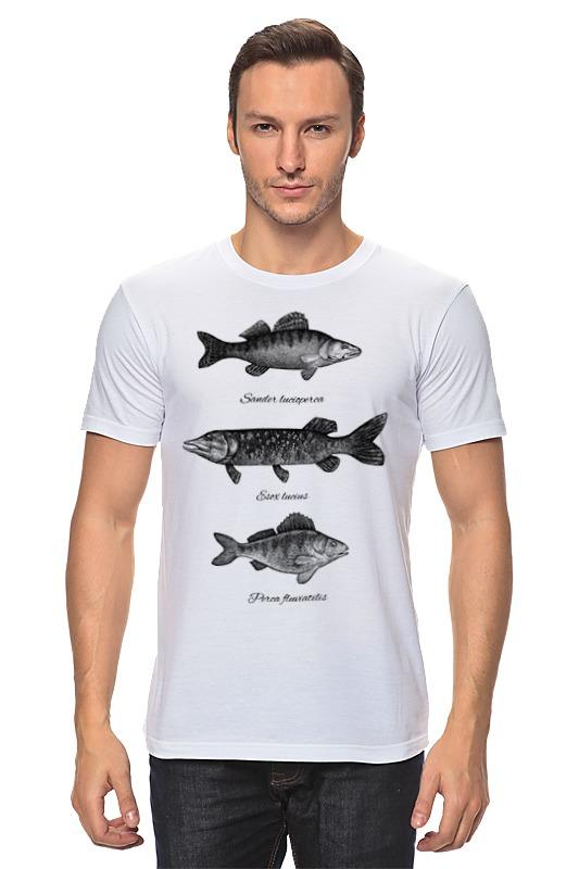Футболка классическая Printio Коллекция рыб коллекция