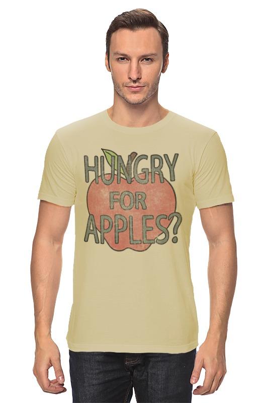 Футболка классическая Printio Hungry for apples? рик и морти недорого