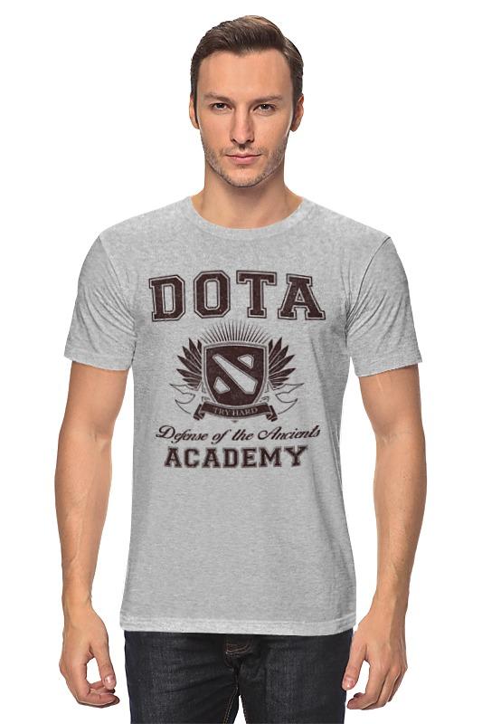 Футболка классическая Printio Dota academy футболка классическая printio 62 2% в саратове