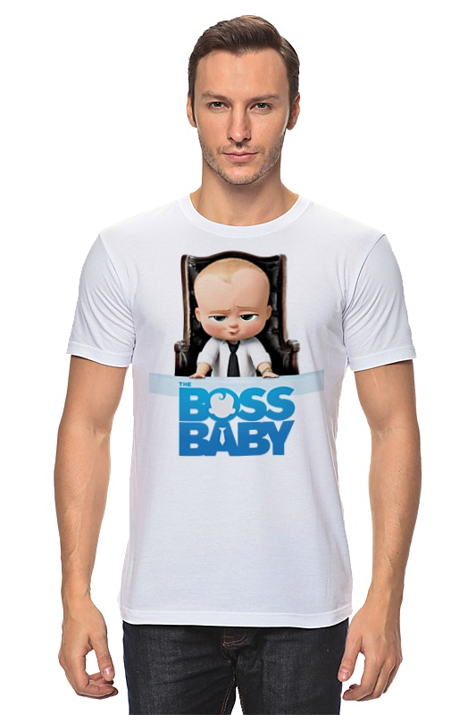 Футболка классическая Printio Босс-молокосос / the boss baby босс молокосос blu ray 3d