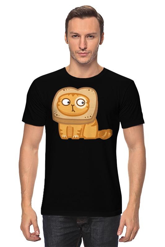 Футболка классическая Printio Кот персик / cat persik футболка для беременных printio кот персик