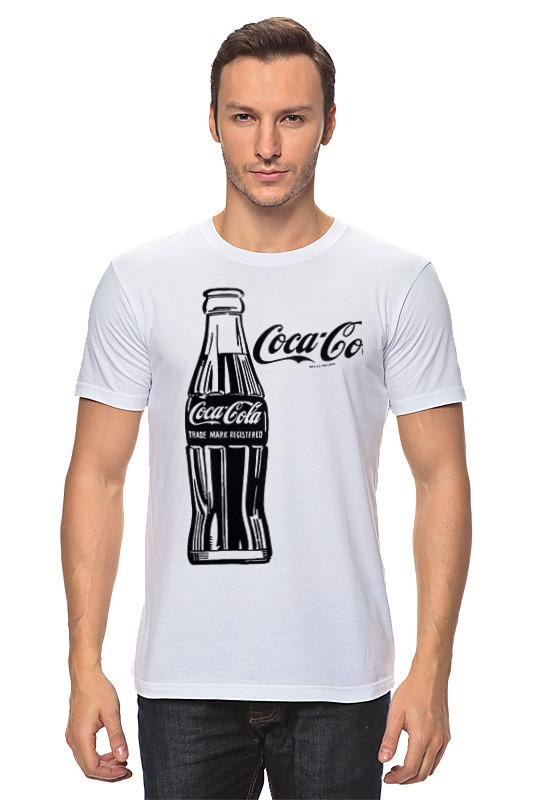 Футболка классическая Printio Кока-кола (coca-cola) блок глюкоза конфеты кола 42г
