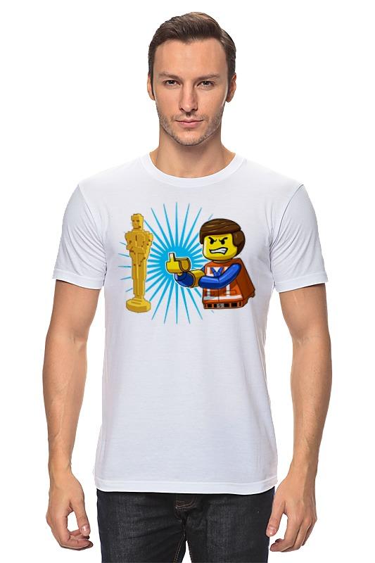 Футболка классическая Printio Оскар лего футболка для беременных printio оскар лего