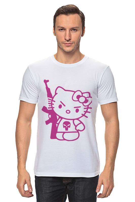 Футболка классическая Printio Hello kitty ak-47