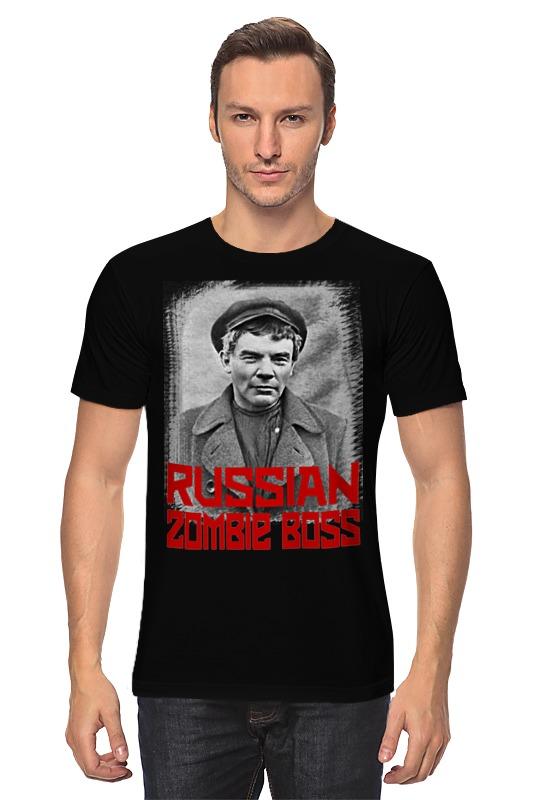 Футболка классическая Printio Lenin russian zombie boss футболка классическая printio dr lenin