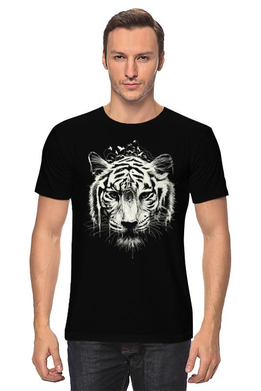 Футболка классическая Printio Белый тигр