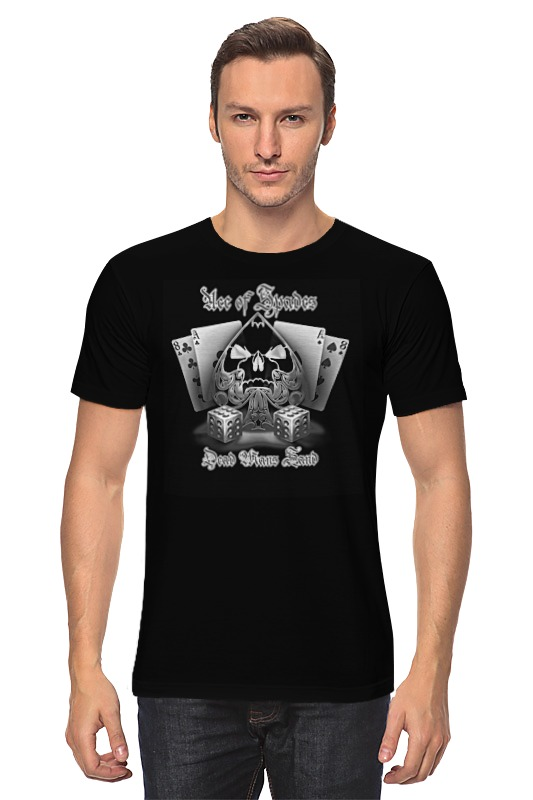 Футболка классическая Printio Ace of spades футболка wearcraft premium slim fit printio ace of spades