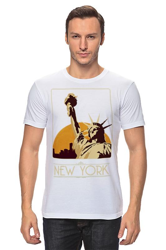 Футболка классическая Printio New york футболка print bar new york apple