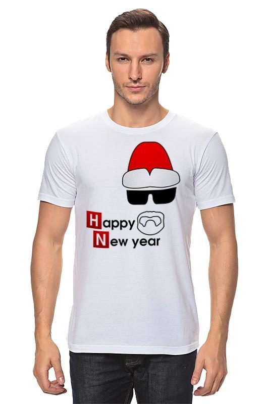 Футболка классическая Printio Happy new year new original ki0209 warranty for two year