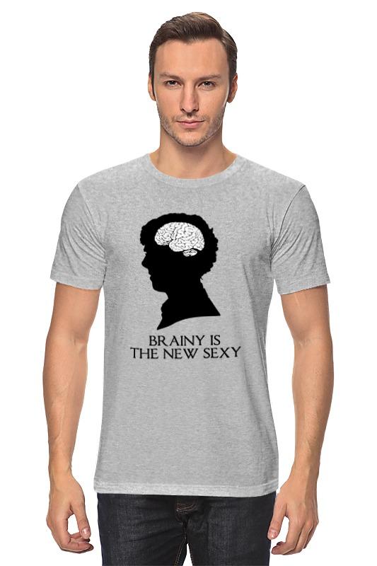 Футболка классическая Printio Шерлок холмс (sherlock holmes) футболка с полной запечаткой для мальчиков printio шерлок холмс sherlock holmes