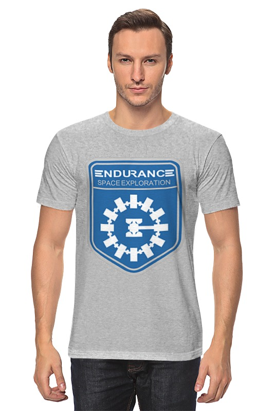 Футболка классическая Printio Endurance (interstellar) майка классическая printio endurance interstellar