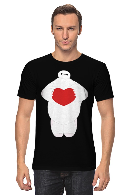 Printio Baymax (город героев) футболка классическая printio big hero 6 fred zilla