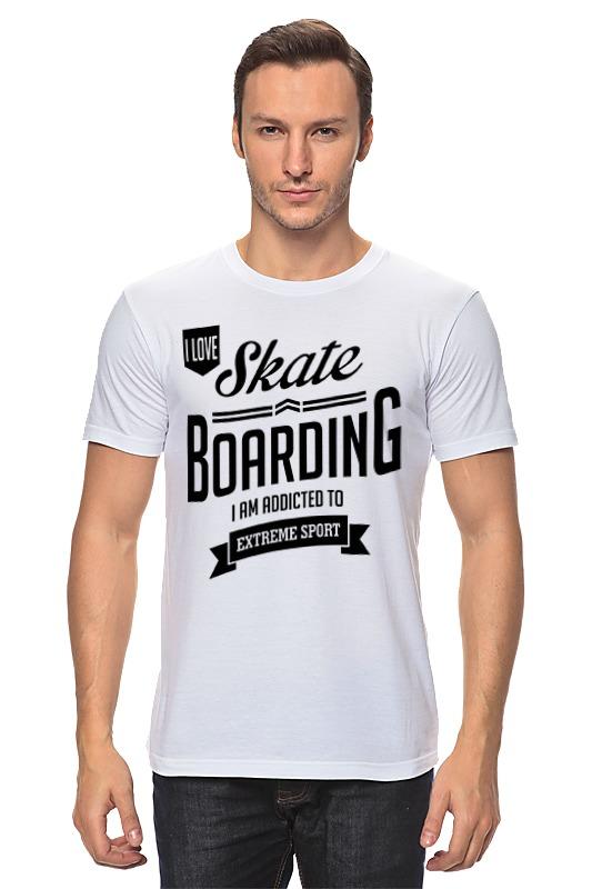 Футболка классическая Printio Люблю скейтбординг футболка подмост скейтбординг