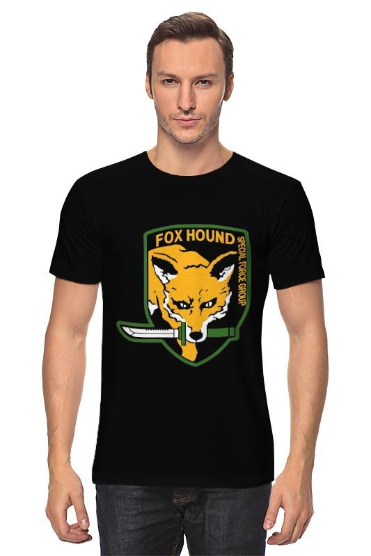 Футболка классическая Printio Fox hound футболка print bar special forces foxhound