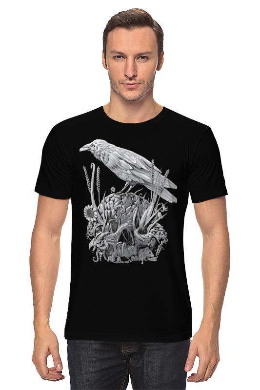 Футболка классическая Printio Белая ворона футболка рингер printio ворона
