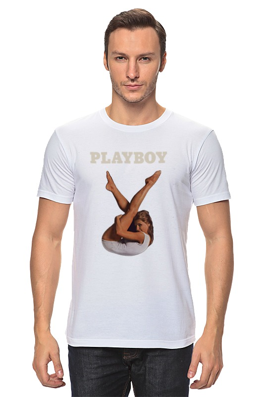 Футболка классическая Printio Playboy девушка безрукавка playboy x 007119
