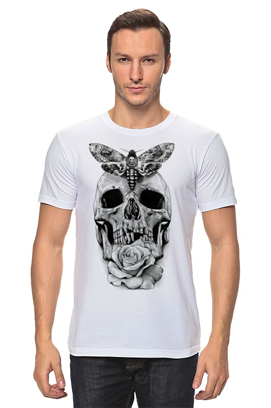 Футболка классическая Printio Skull - 10 fashionable punk style skull pendant necklace