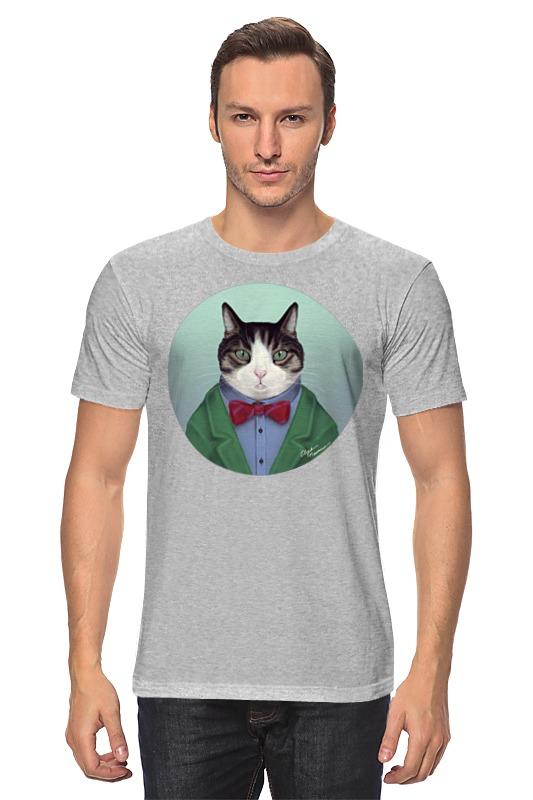 Футболка классическая Printio Кот в костюме абиссинский кот в харькове