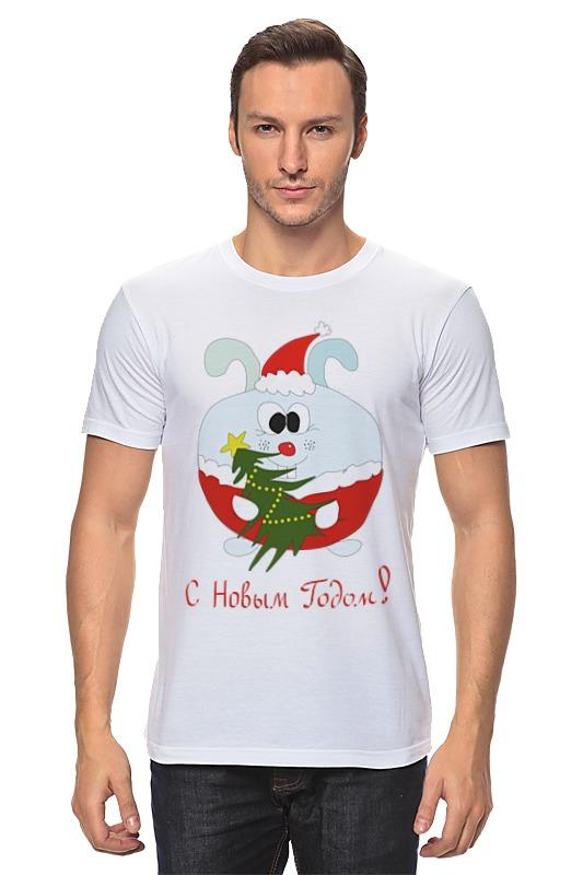 Футболка классическая Printio Новогодний заяц футболка для беременных printio новогодний лось