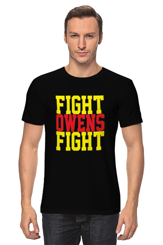 Футболка классическая Printio Fight owens fight (wwe) рашгарды fight nights рашгард russian eagle
