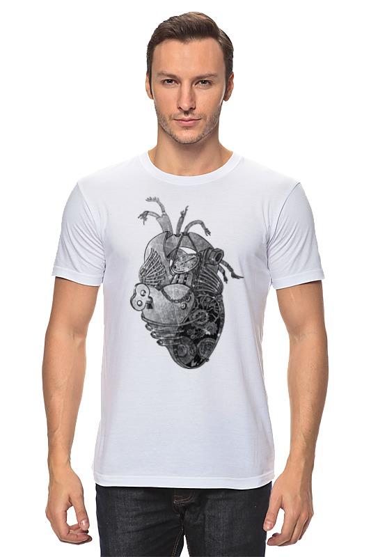 Футболка классическая Printio Стимпанк сердце ws 279 статуэтка в стиле стимпанк водолаз 1212392