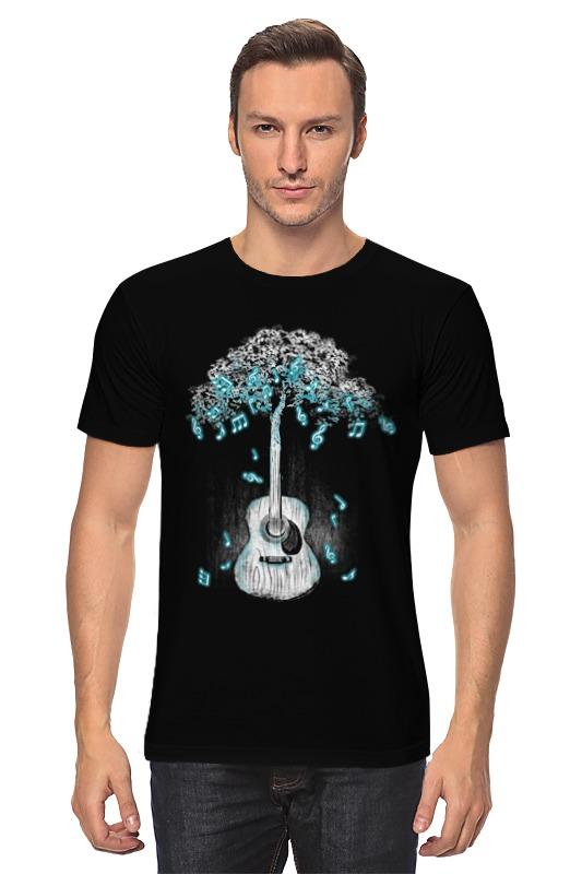 Футболка классическая Printio Музыкальное дерево