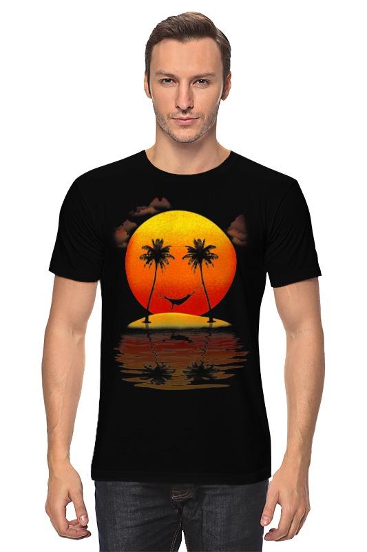 Футболка классическая Printio Солнечная улыбка футболка классическая printio футболка улыбка