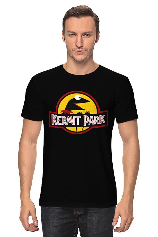 Футболка классическая Printio Kermit park maggie and kermit hollywood