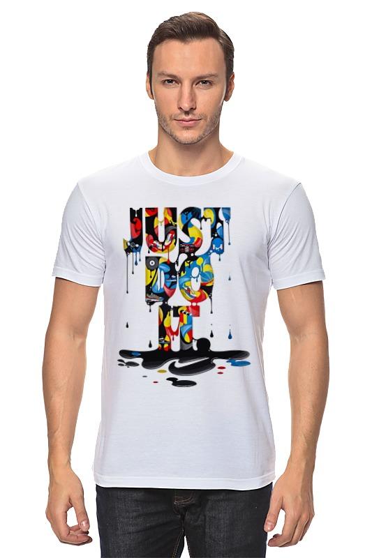 Футболка классическая Printio Just do it (просто сделай это) футболка рингер printio just do it просто сделай это