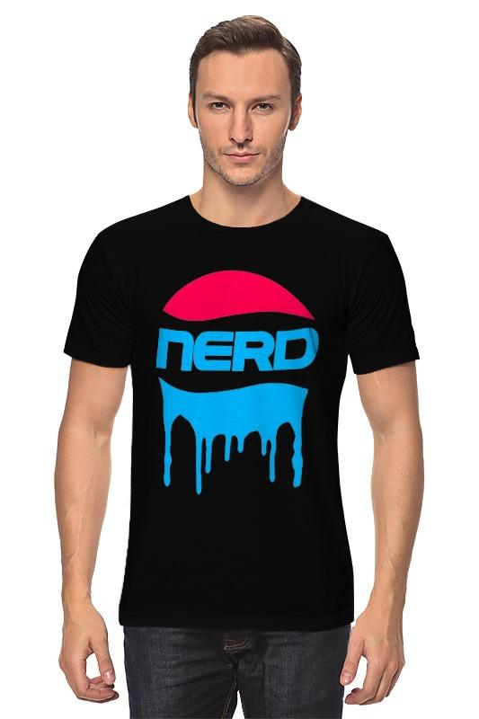 Футболка классическая Printio Nerd. nerd do well