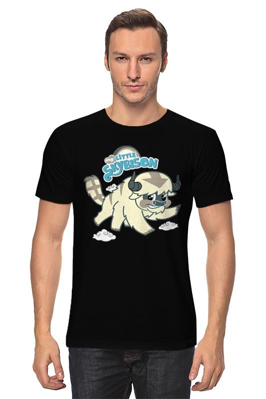 Футболка классическая Printio Бизон (легенда о корре) футболка wearcraft premium slim fit printio бизон легенда о корре