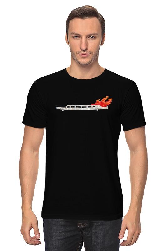 Футболка классическая Printio Лимузин в огне футболка классическая printio 62 2% в саратове