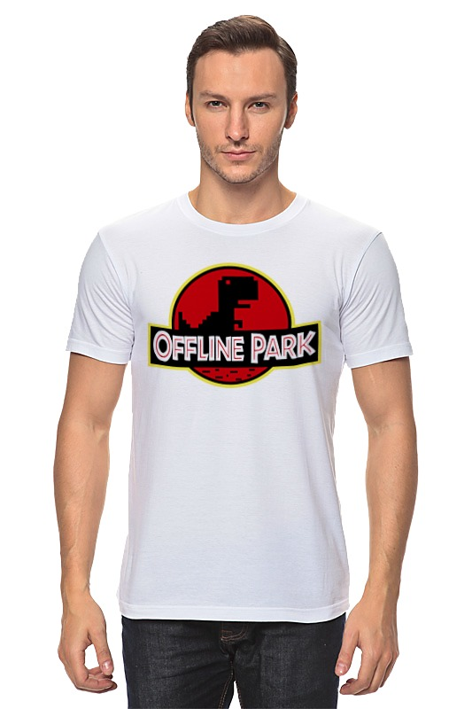 Фото - Футболка классическая Printio Динозавры (парк юрского периода) конструктор nd play автомобильный парк 265 608