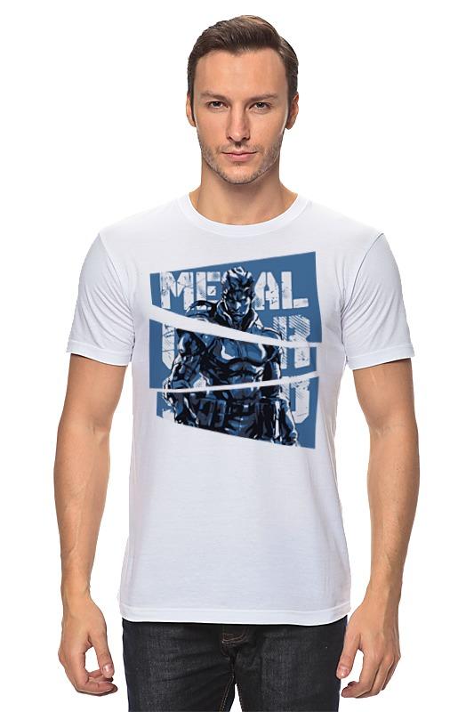 Футболка классическая Printio Solid snake (metal gear solid) футболка стрэйч printio рация metal gear