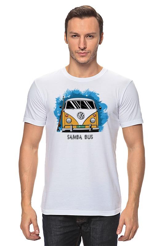 Футболка классическая Printio Samba bus футболка рингер printio samba bus