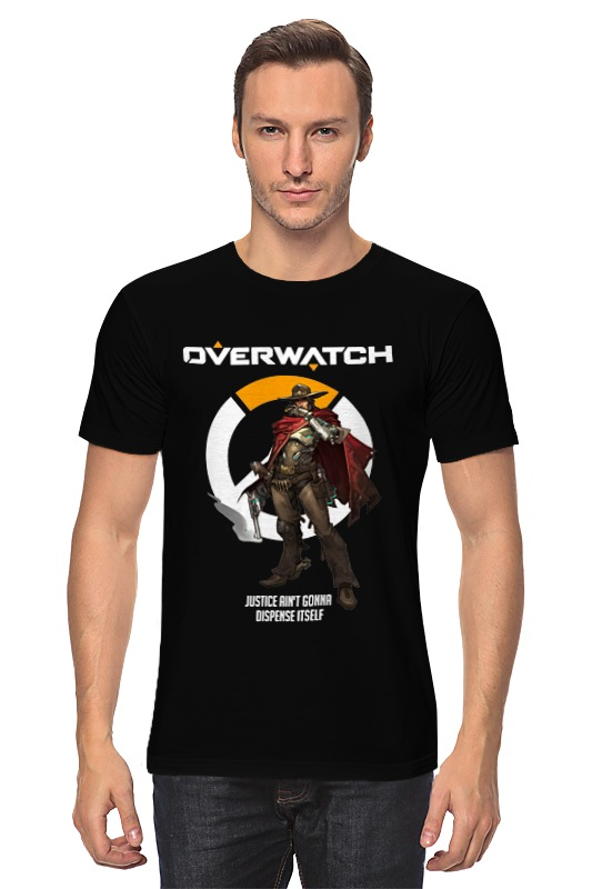 Футболка классическая Printio Overwatch. маккри худи print bar маккри
