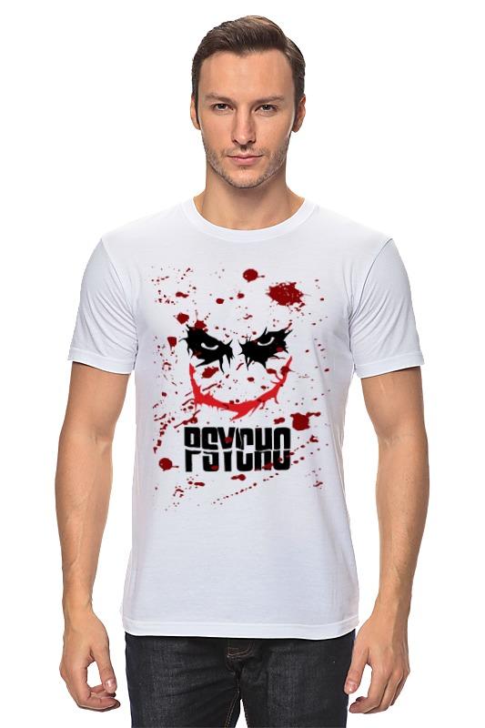 Футболка классическая Printio Джокер (psycho)