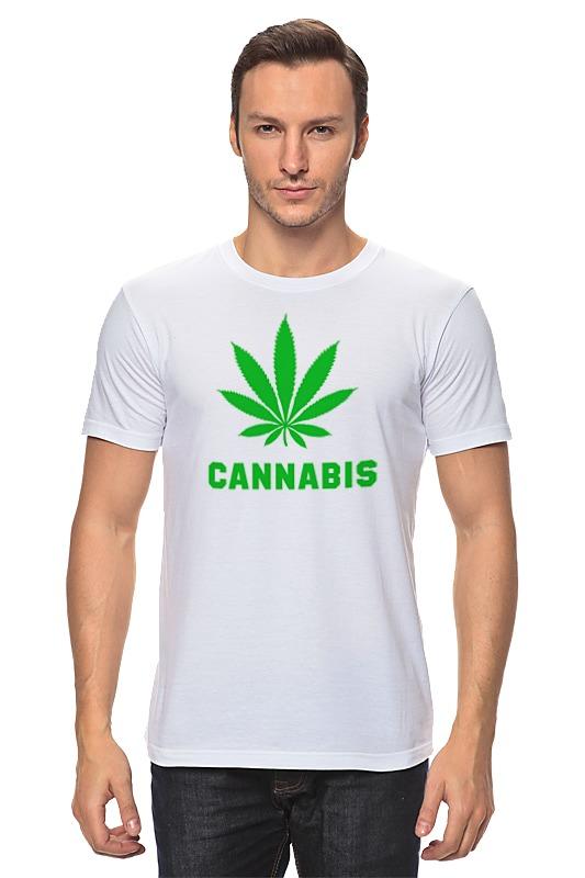 Футболка классическая Printio Cannabis handbook of cannabis