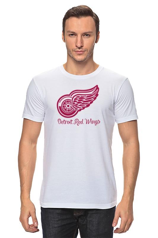 Футболка классическая Printio Detroit red wings детская футболка классическая унисекс printio detroit red wings