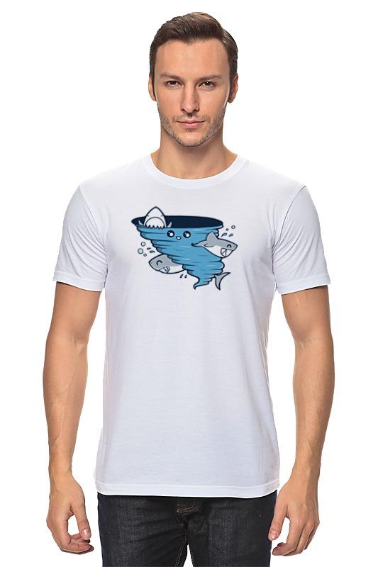 Футболка классическая Printio Водоворот акул футболка рингер printio водоворот акул