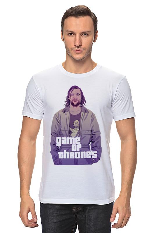 Футболка классическая Printio Gta game of thrones футболка классическая printio gta 5 dog