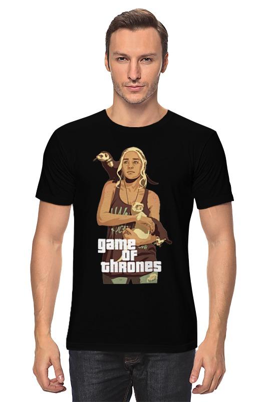 Футболка классическая Printio Gta game of thrones футболка классическая printio gta 5 poster