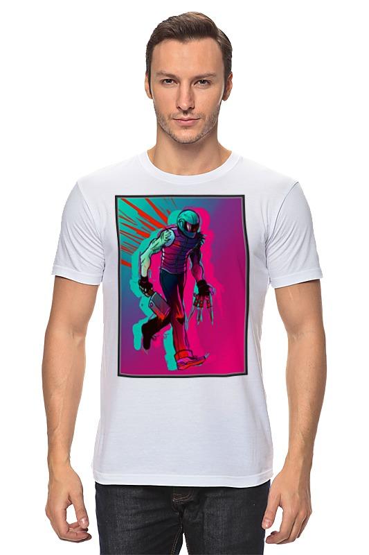 Printio Бегущий с тесаком футболка классическая printio бегущий волк