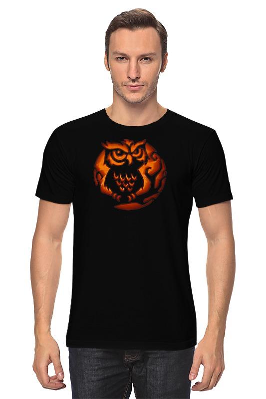 Футболка классическая Printio Огненная сова футболка классическая printio огненная сова