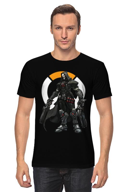 Футболка классическая Printio Overwatch reaper / жнец овервотч reaper man