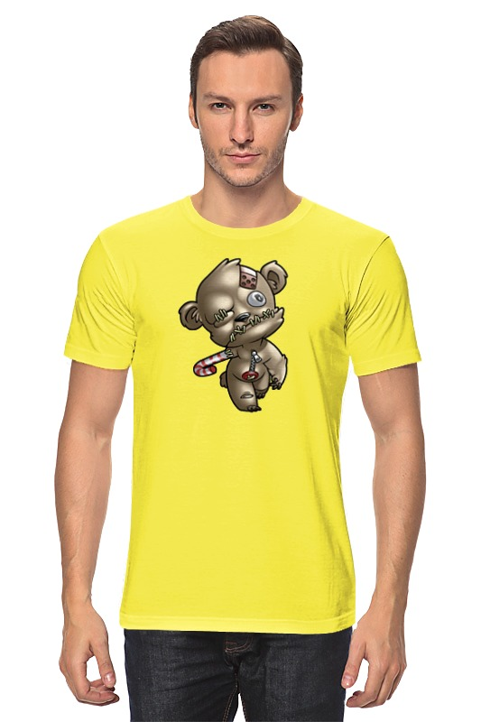 Футболка классическая Printio Мишка зомби футболка для беременных printio мишка me to you