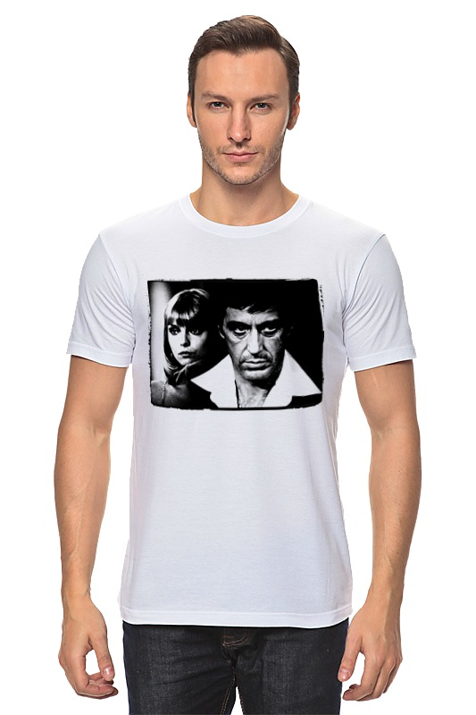 Printio Лицо со шрамом футболка классическая printio тони монтана лицо со шрамом