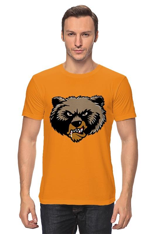 Футболка классическая Printio Медведь printio футболка стрэйч