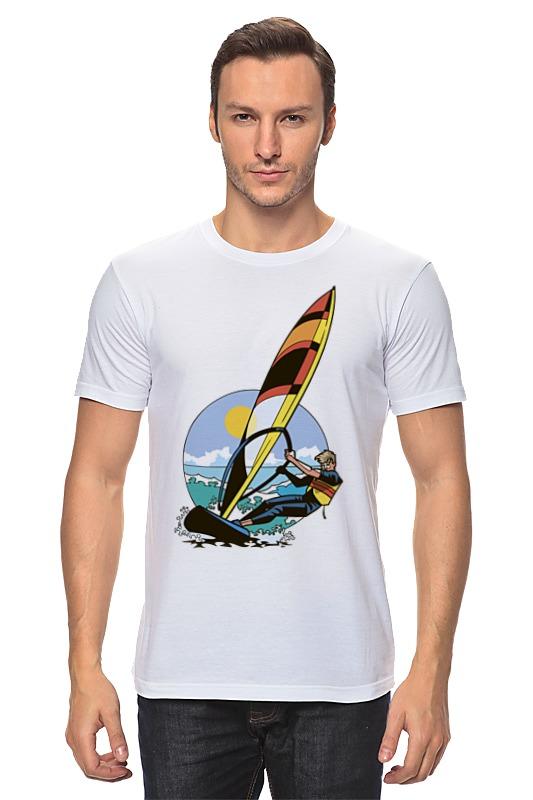 Футболка классическая Printio Спортсмен..отдых...пляж..море отдых в доме отдыха покровское