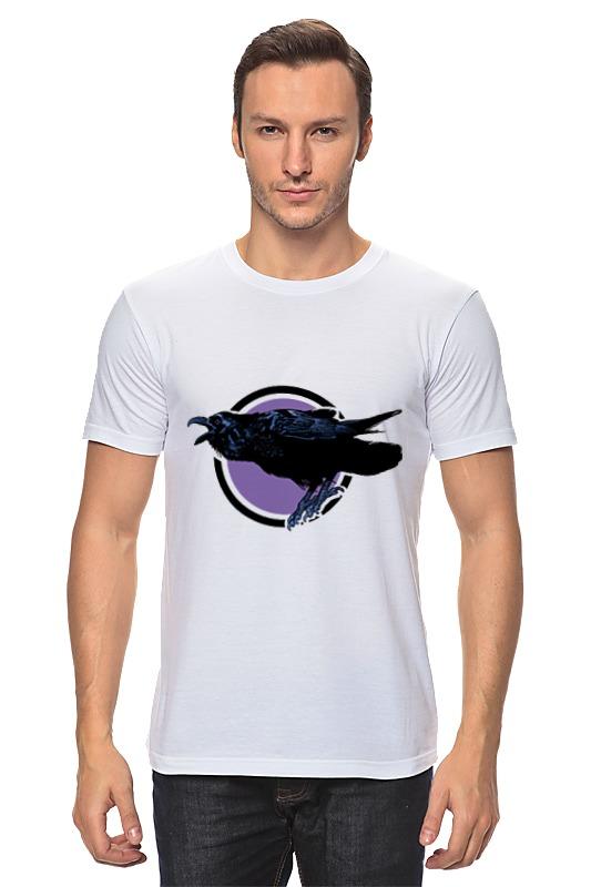 Футболка классическая Printio Ворон футболка классическая printio ворона